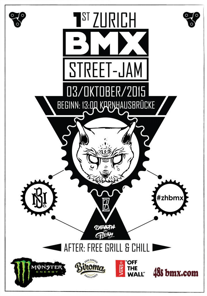 BMX Street-Jam 2015 Flyer